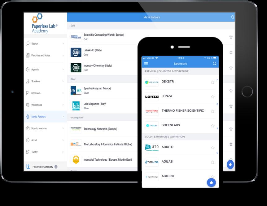 PLA2018 conference app