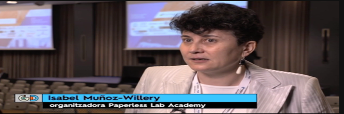 paperless lab academy on local TV