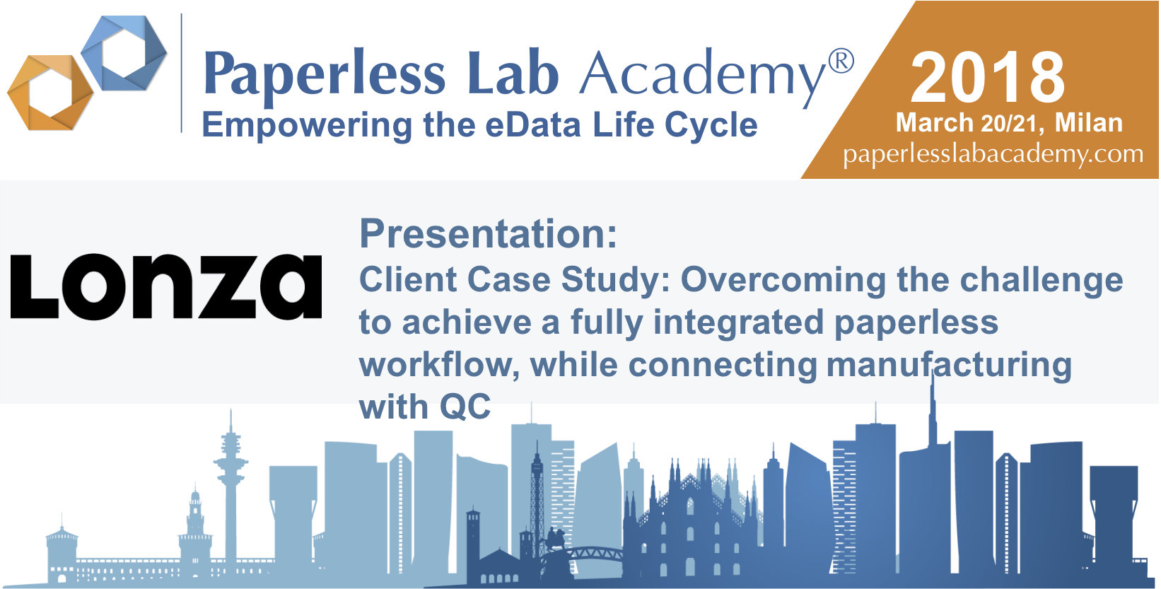 lonza paperless lab academy