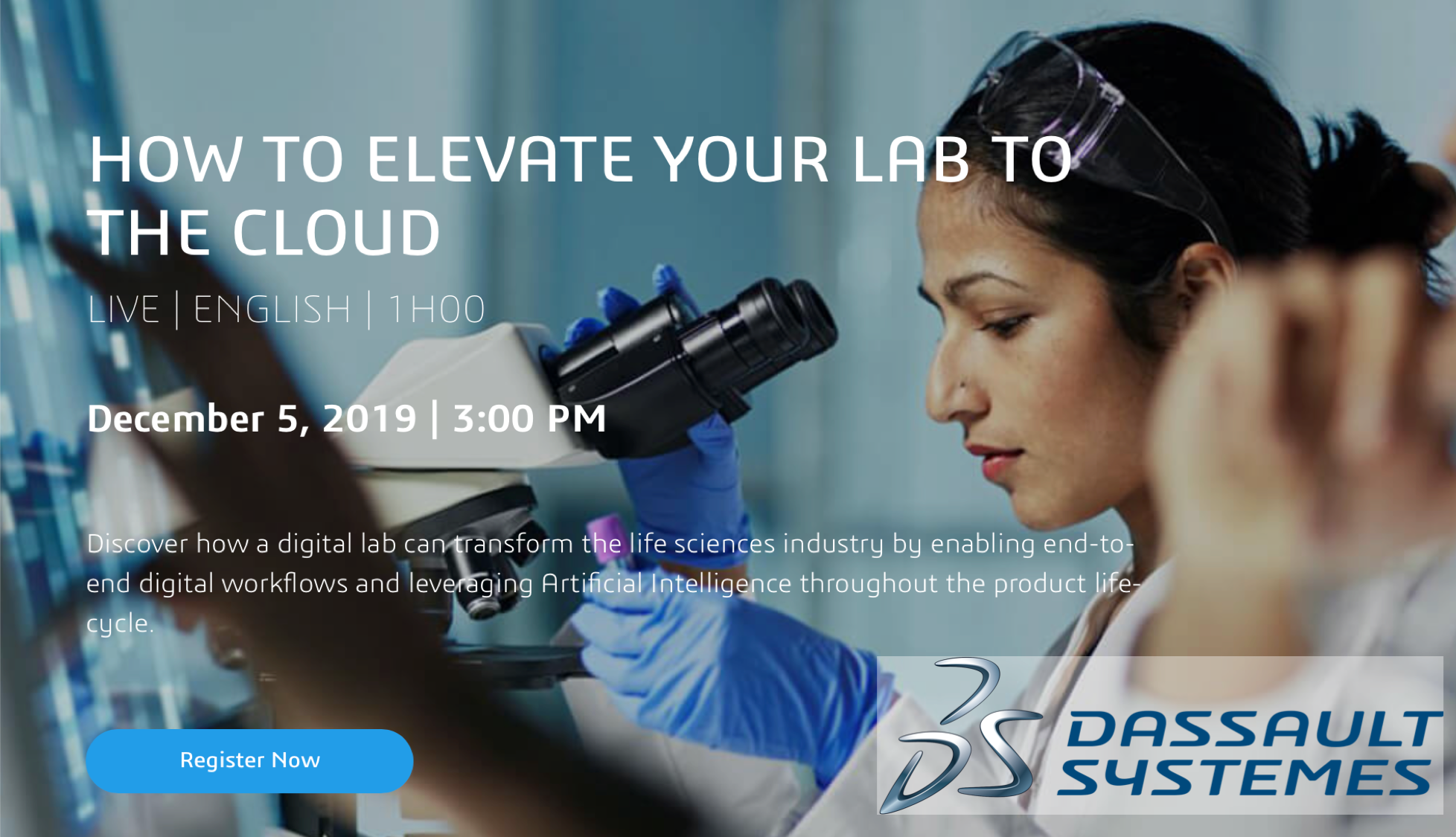 Elevate your Lab to the Cloud