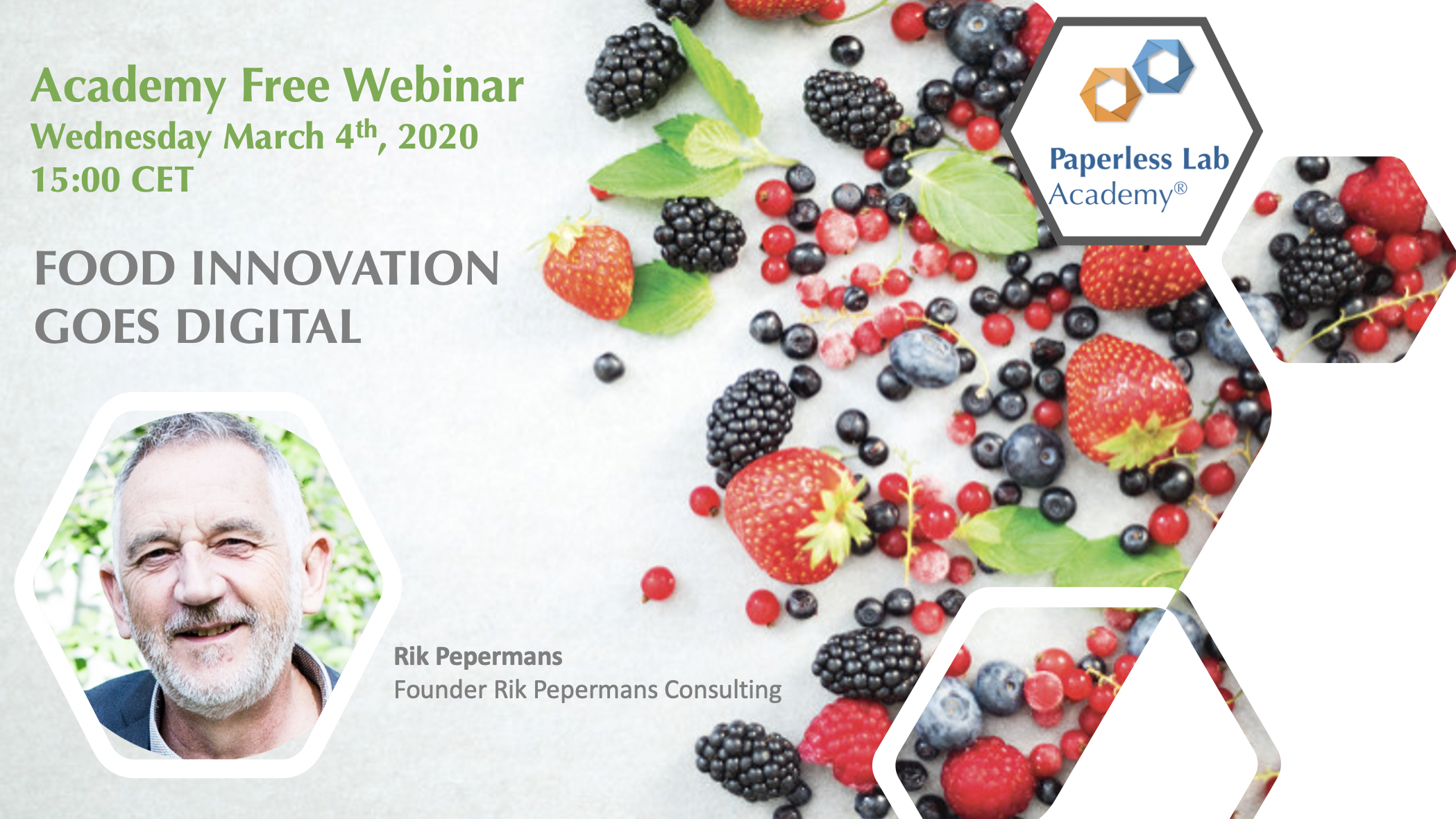 webinar food innovation