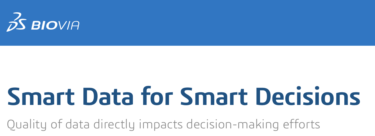 Smart Data for Smart Decisions