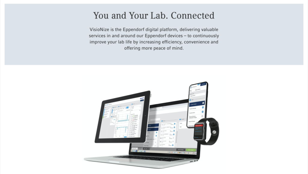 eppendorf lab device monitoring