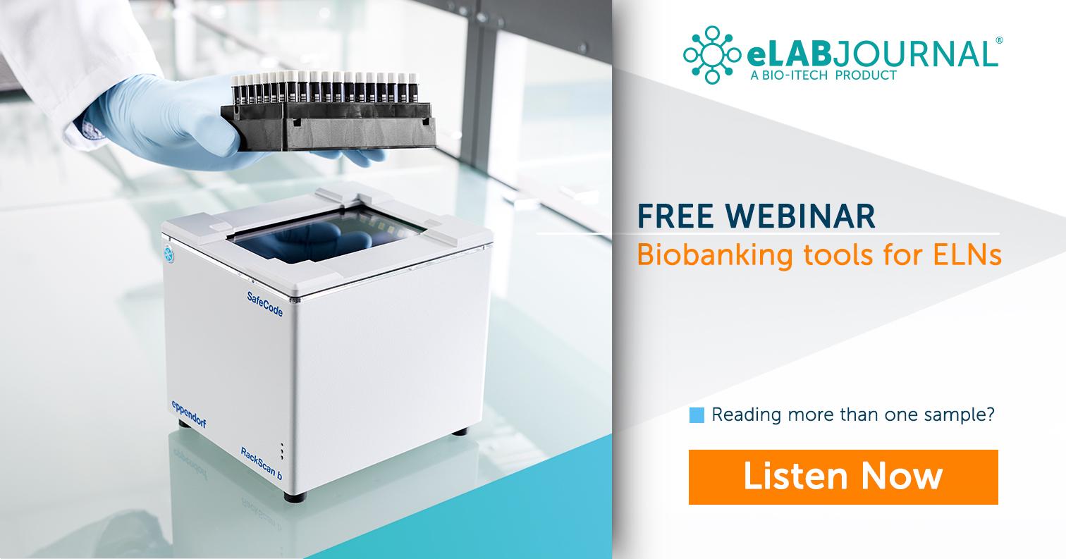 Biobanking ELN webinar