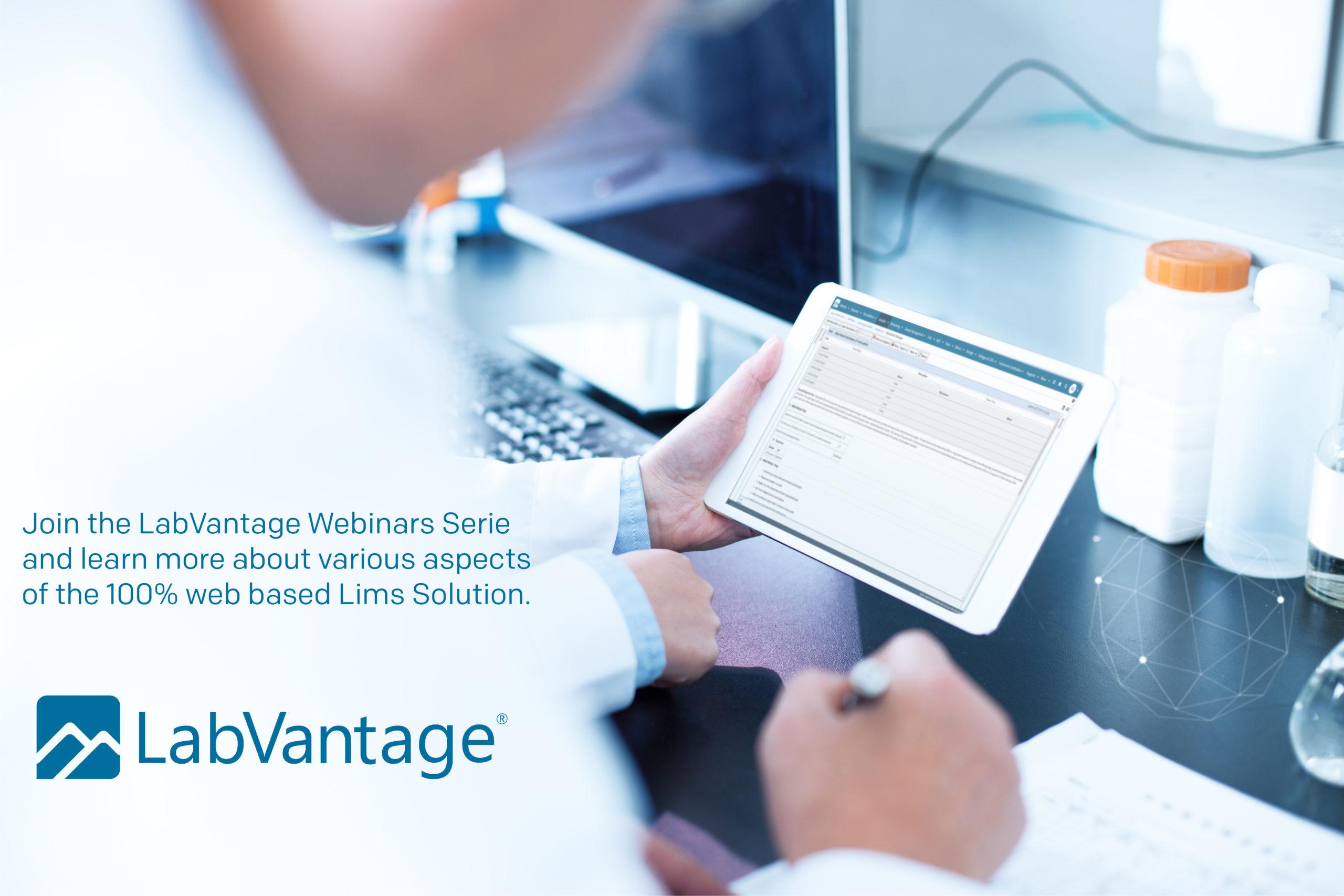 Labvantage webinar series