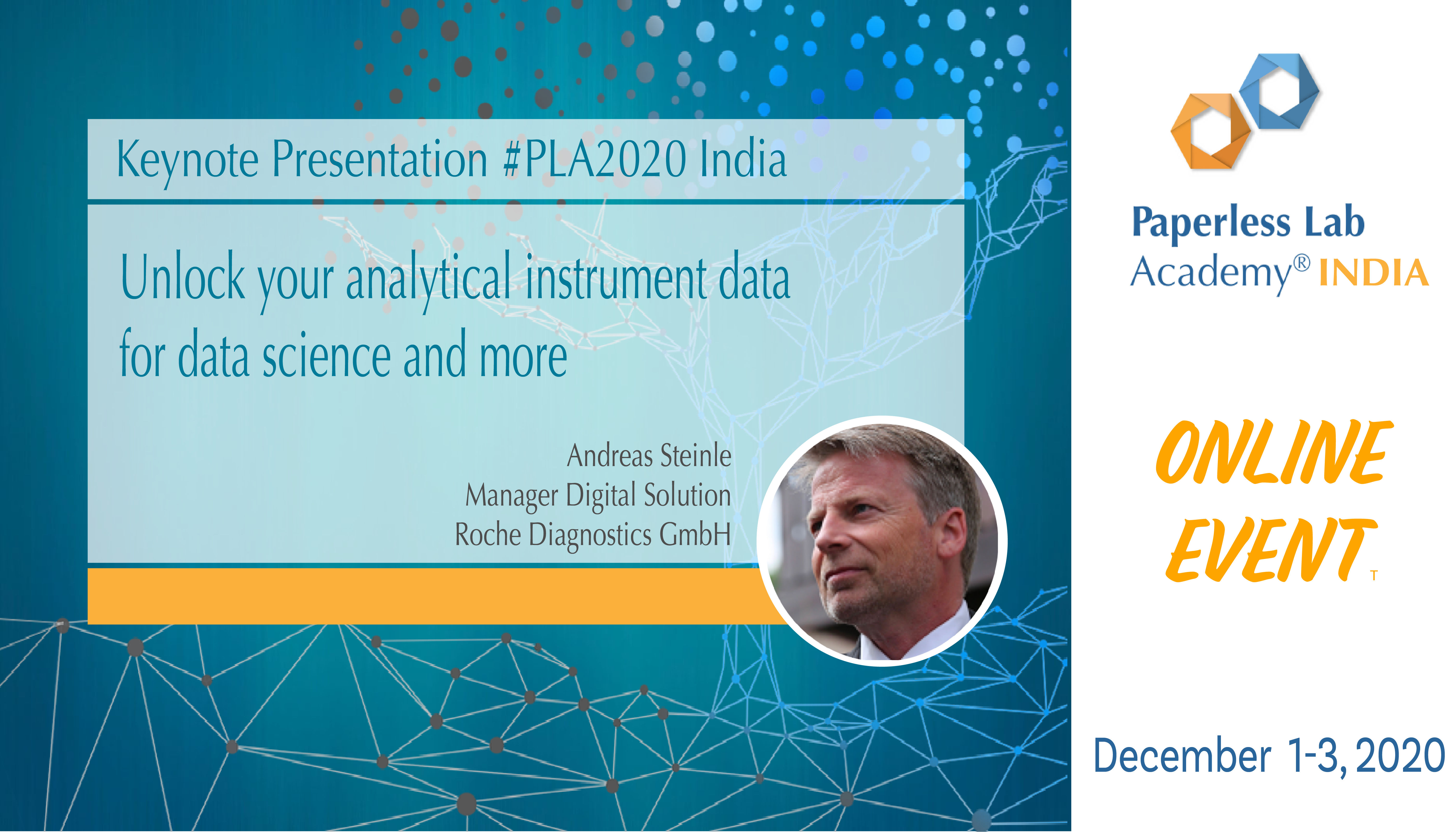 Roche diagnostics Andreas Steinle PLA2020India