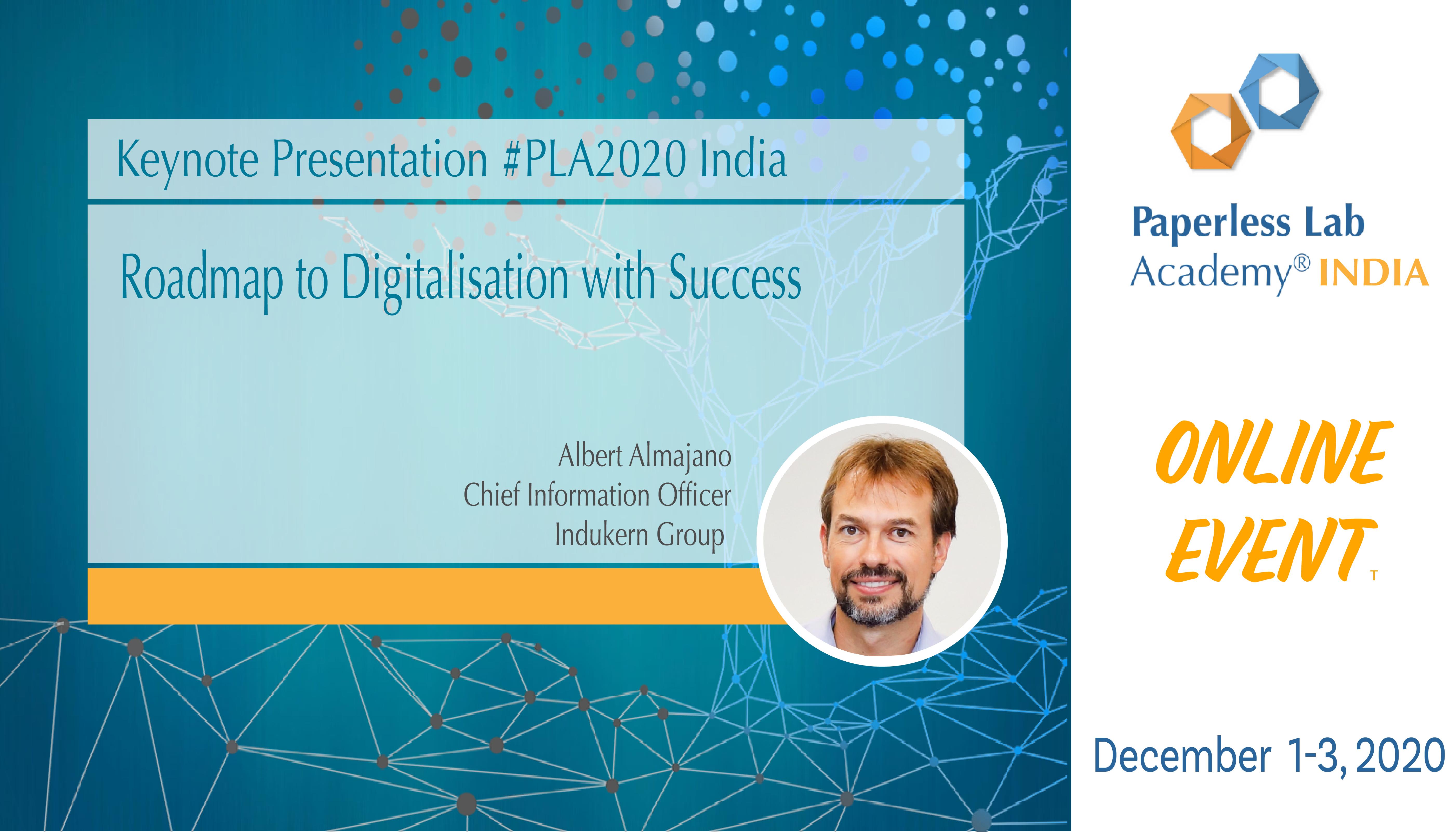Albert Almajano presentation PLA2020India