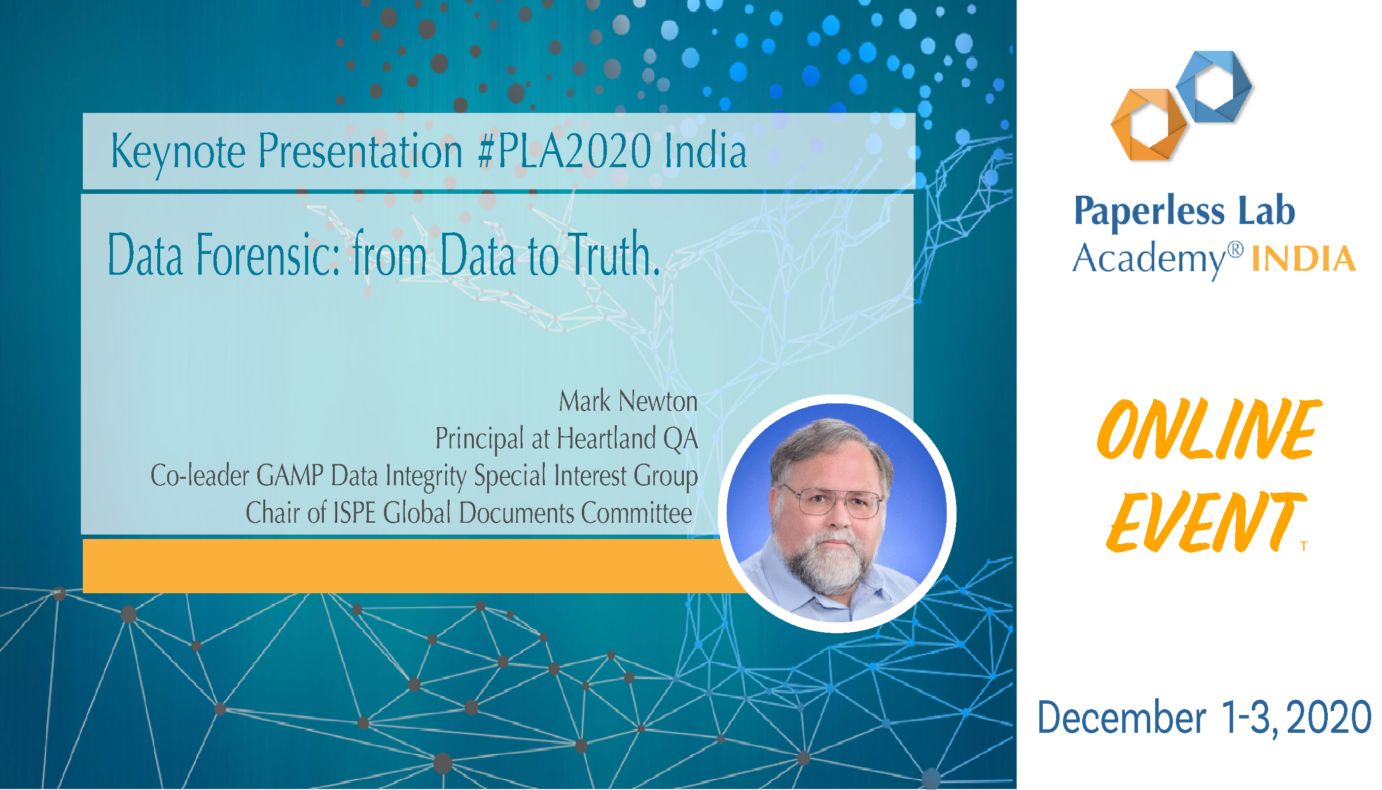 Mark presentation PLA2020 India