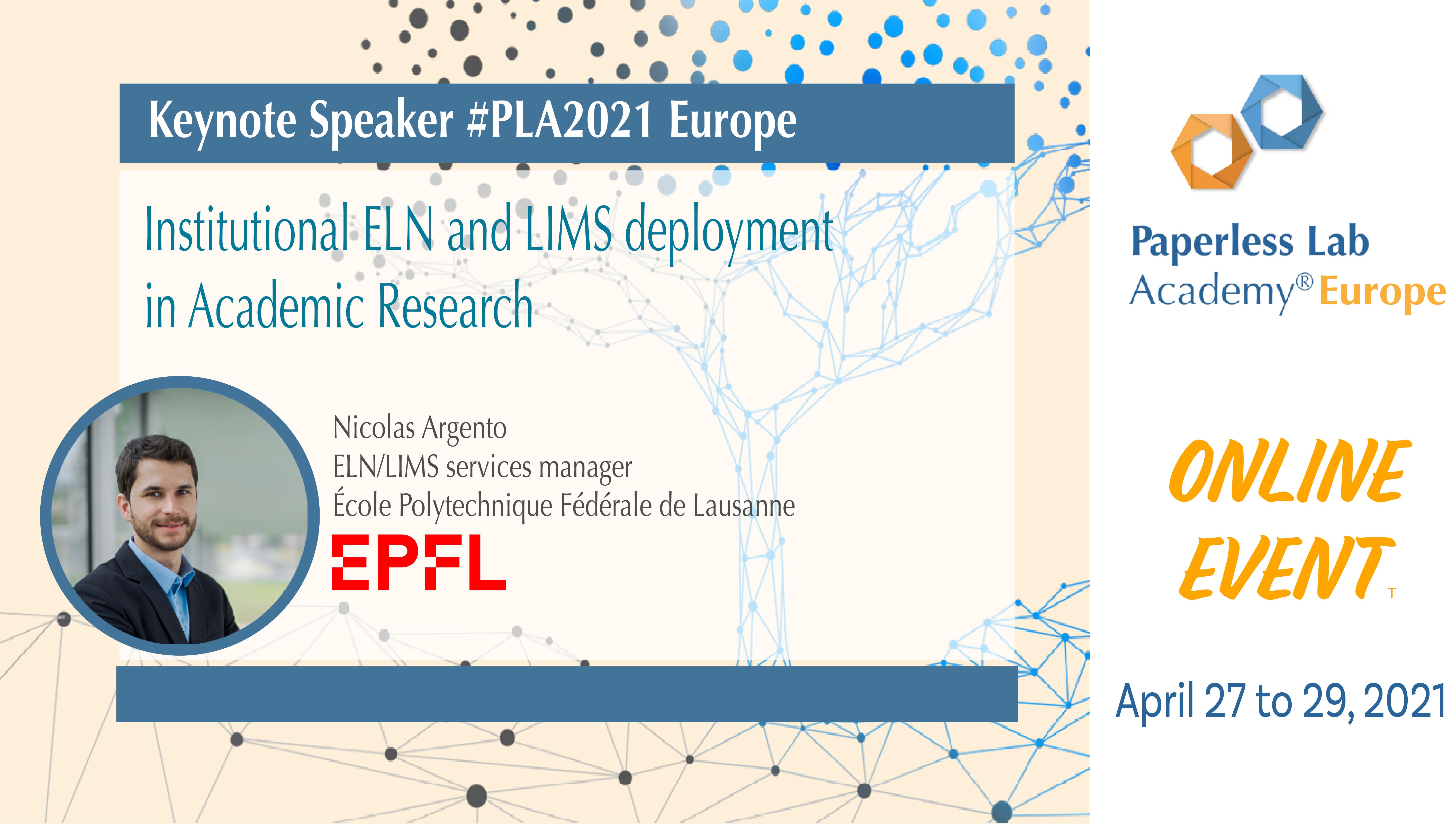 Nicolas Argento EPFL PLA2021