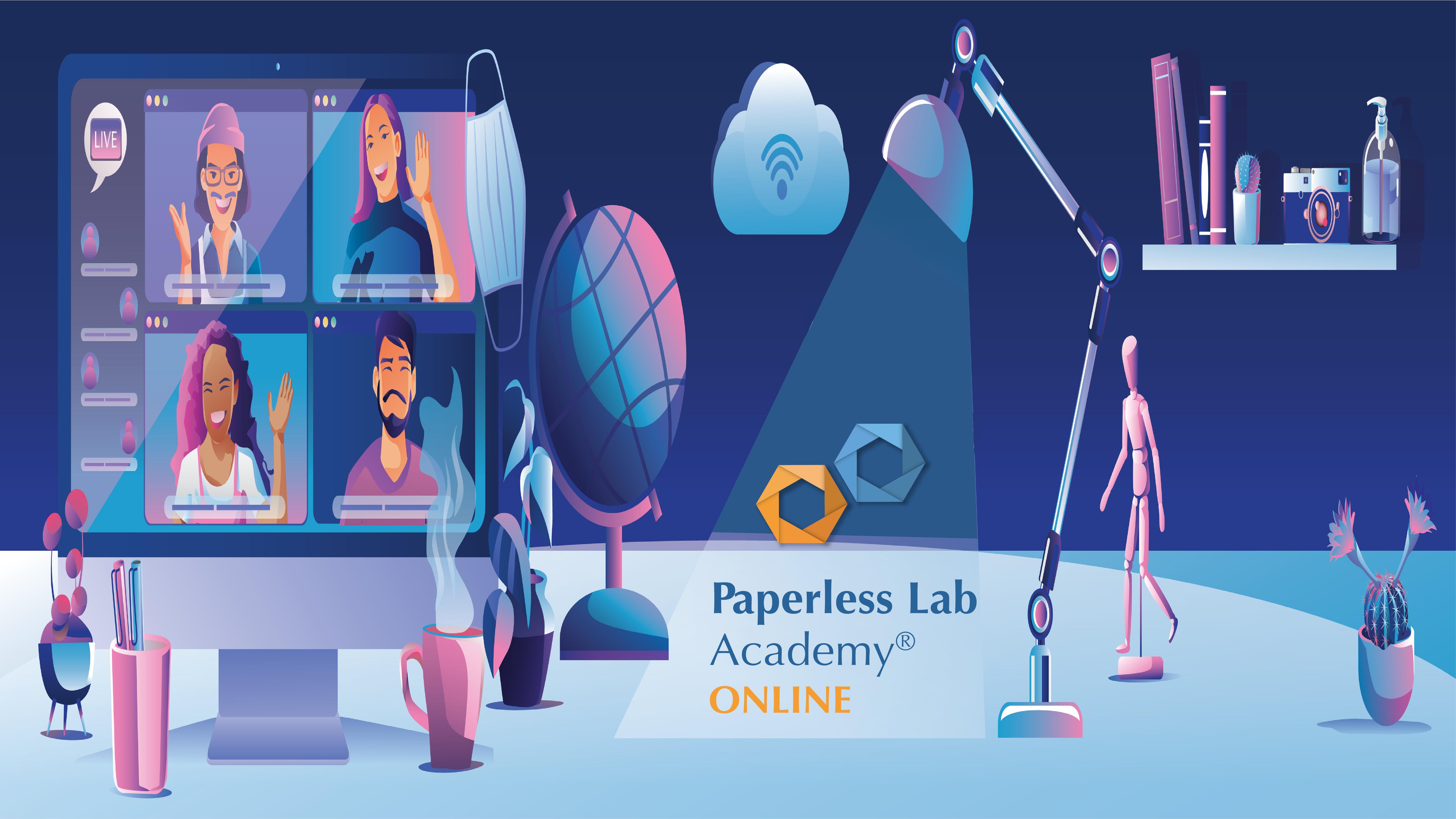 Paperless lab academy virtual edition