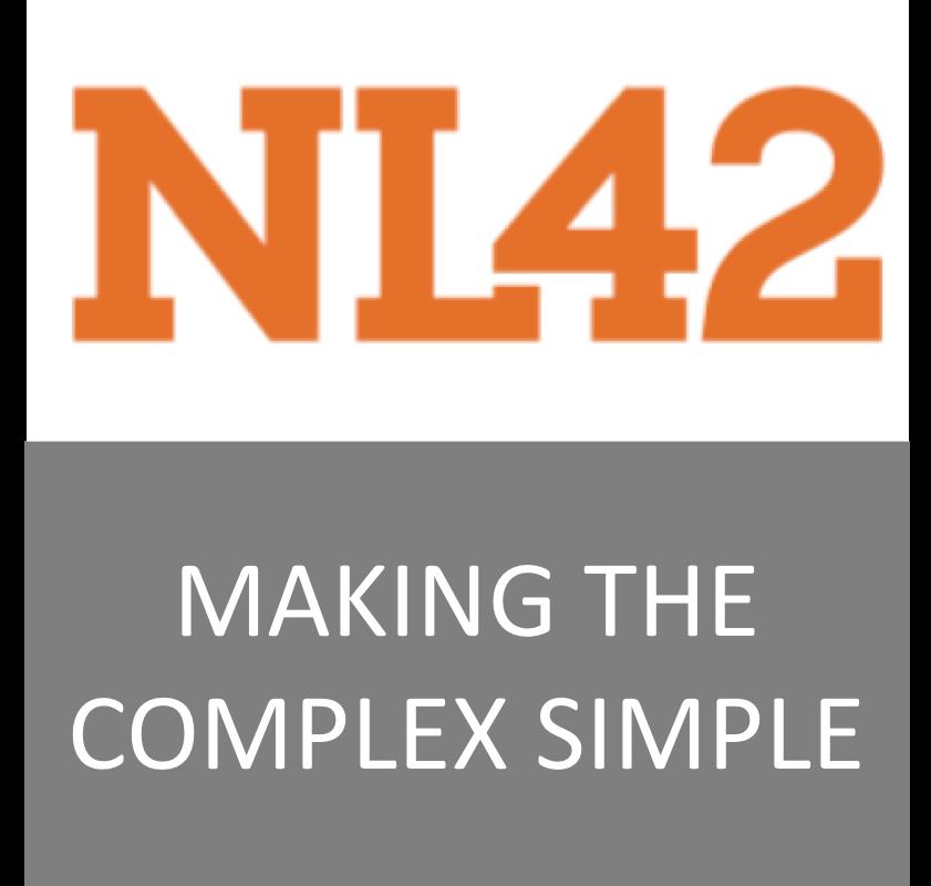 NL42 organiser Paperless Lab Academy